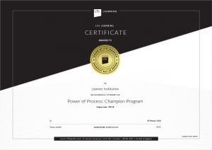Power of Process Lab professionals