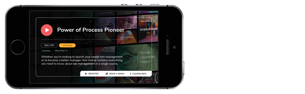 power of process pioneer available on LabVine